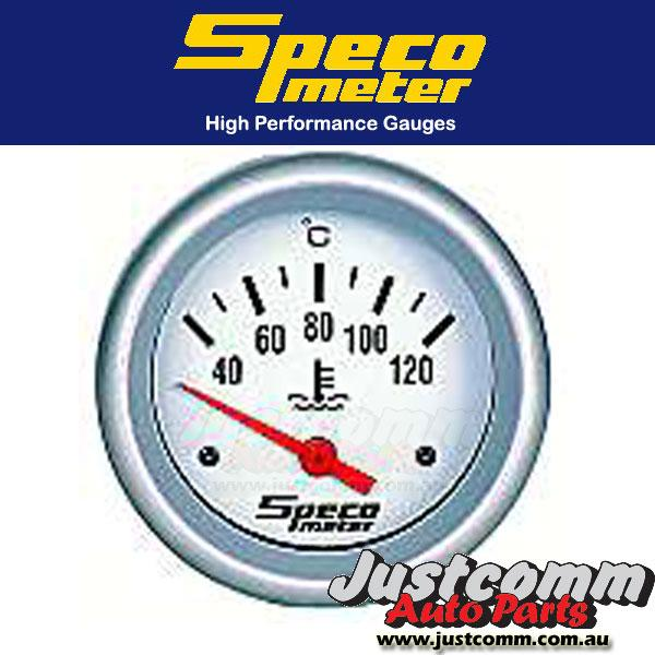 SPECO PRO SERIES 2 5/8 inch 40-120ºC ELECTRICAL WATER TEMPERATURE GAUGE #537-30