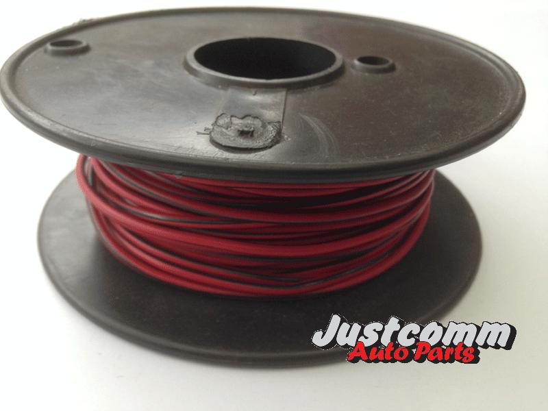 Single Core Cable Roll : Oek automotive cable m roll mm single core wire red