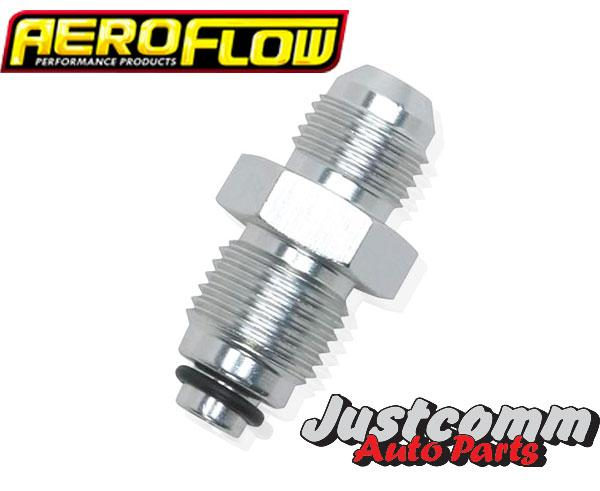 Aeroflow - Power Steering Adaptor M18 x 1.5 O-Ring Style to -6AN - AF352-06SS