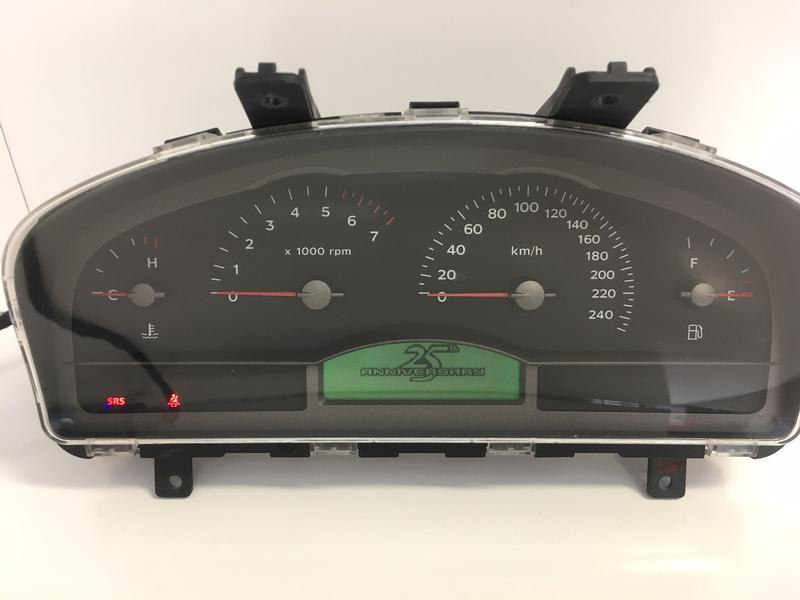 Holden Commodore VY 25th Anniversary Instrument Cluster - Choose Klms 92166326