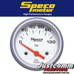SPECO SPORT SERIES 2inch 100 psi ELECTRIC OIL PRESSURE GAUGE #524-20