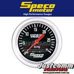SPECO PERFORMANCE SERIES 2 5/8 inch 0-30 HG VACUUM GAUGE #535-10