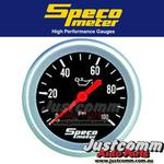 SPECO PERFORMANCE SERIES 2 5/8in 0-100 PSI MECHANICAL OIL PRESSURE GAUGE #535-16
