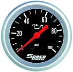 Speco 2 5/8  ( 66mm ) Mechanical Oil Pressure Gauge P/N 535-17