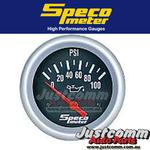 GENUINE SPECO PERFORMANCE SERIES 2 5/8in 0-100 PSI ELECTRICAL OIL PRESSURE GAUGE