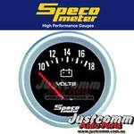 GENUINE SPECO PERFORMANCE SERIES 2 5/8 inch 10-18 VOLT VOLTMETER GAUGE - 535-22