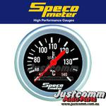 GENUINE SPECO PERFORMANCE SERIES 2 5/8in 40-140 PSI MECHANICAL WATER TEMP GAUGE