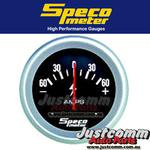 SPECO PERFORMANCE SERIES 2 5/8 inch 60-0-60 AMMETER GAUGE #535-51