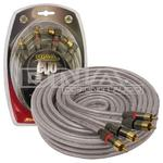 5.0 Mtr EVO Oxygen Free  2 RCA To 2 RCA Audio Lead