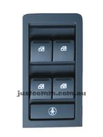HOLDEN COMMODORE VY VZ BLACK 4 BUTTON  ELECTRIC WINDOW SWITCH SS HSV
